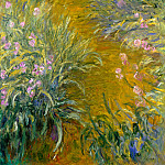 Claude Oscar Monet - Path through the Irises 01