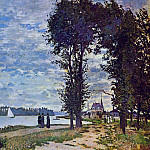The Banks of the Seine at Argenteuil, Клод Оскар Моне