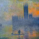 Claude Oscar Monet - Houses of Parliament, Fog Effect