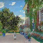 The Artist's House at Argenteuil, Claude Oscar Monet