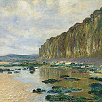 Claude Oscar Monet - Low Tide at Varengeville