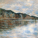 Claude Oscar Monet - Low Tide at Pourville
