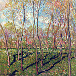 Trees in Winter, View of Bennecourt, Claude Oscar Monet