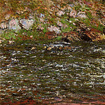 Torrent of the Petite Creuse at Freeselines, Claude Oscar Monet