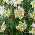 White Clematis, Claude Oscar Monet