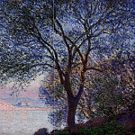 Antibes Seen from the Salis Gardens 02, Claude Oscar Monet