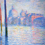 Claude Oscar Monet - The Grand Canal 02