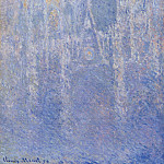 Claude Oscar Monet - Rouen Cathedral, the Portal, Morning Fog