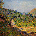 Claude Oscar Monet - At Les Petit-Dalles