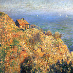 Claude Oscar Monet - Fisherman's House at Varengeville