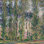 Claude Oscar Monet - Poplars at Giverny