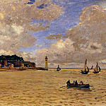 Lighthouse at the Hospice, Claude Oscar Monet