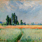 The Wheat Field, Claude Oscar Monet