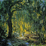 Weeping Willow 2, Claude Oscar Monet