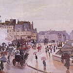 The Pont Neuf, Claude Oscar Monet