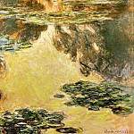 Claude Oscar Monet - Water Lilies, 1907 04