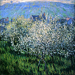 Claude Oscar Monet - Plums Blossom