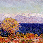 Claude Oscar Monet - View of Cap d'Antibes