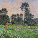 Meadow in Giverny, Claude Oscar Monet