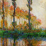 Claude Oscar Monet - Three Trees in Autumn