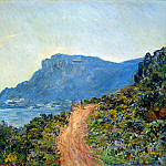 The Corniche of Monaco, Claude Oscar Monet