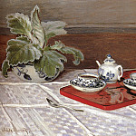 The Tea Set, Claude Oscar Monet