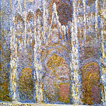 Rouen Cathedral, Sunlight Effect, Claude Oscar Monet