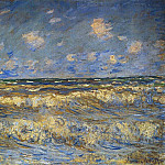 Rough Sea, Claude Oscar Monet