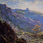 Claude Oscar Monet - The Old Tree, Sunlight on the Petit Cruese