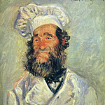 Portrait of Pere Paul, Клод Оскар Моне