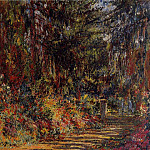 Path at Giverny, Claude Oscar Monet