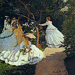 Women in the Garden, Claude Oscar Monet