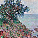 Mediteranian Coast, Grey Day, Claude Oscar Monet