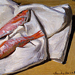 Red Mullets, Claude Oscar Monet