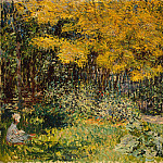 The Garden. , Claude Oscar Monet