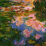 Water Lily Pond, 1917-19 03, Claude Oscar Monet