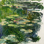 Water Lilies, 1917-19 02, Claude Oscar Monet