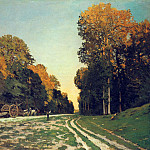 Claude Oscar Monet - The Road from Chailly to Fontainebleau