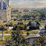 Claude Oscar Monet - The Tuileries (study)