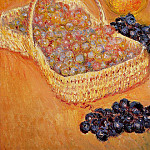 Basket of Graphes, Quinces and Pears, Claude Oscar Monet
