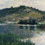 Landscape at Port-Villez, Claude Oscar Monet
