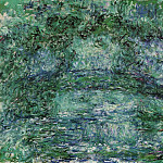 The Japanese Bridge 6, Claude Oscar Monet