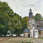 The Chapel Notre-Dame de Grace at Honfleur, Claude Oscar Monet