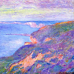 Claude Oscar Monet - Cliff near Dieppe 2