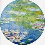 Water Lilies, 1908 07, Claude Oscar Monet