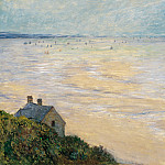 Claude Oscar Monet - The Hut in Trouville, Low Tide