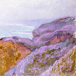 At Val Saint-Nicolas, near Dieppe, Claude Oscar Monet