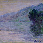 Claude Oscar Monet - The Seine at Port-Villez, Blue Effect
