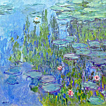 Claude Oscar Monet - Water Lilies, 1914 02