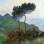 The Church at Varengaville, Grey Weather, Claude Oscar Monet